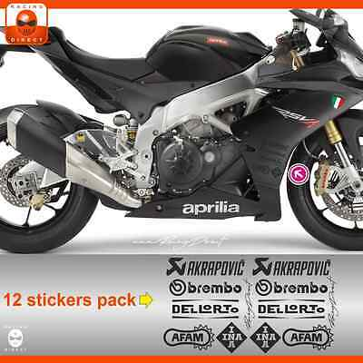 MT03N sticker APRILIA Racing RS4 RSV4 Tuono decal adesivi aufkleber adesivo