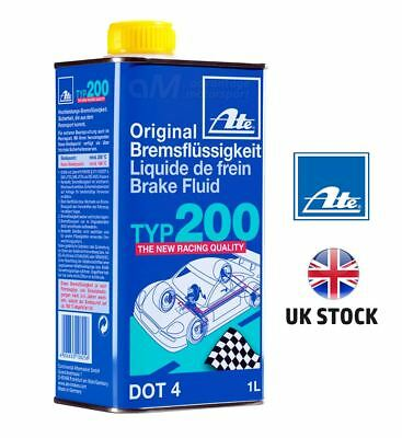 ATE Typ 200 DOT4 Performance Racing Brake Fluid (Replaces Super Blue) FREE P&P