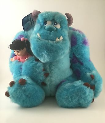 Sully And Boo Monsters Inc Plush With Tags! Sulley