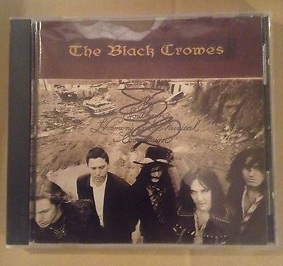 The Black Crowes Southern Harmony Cd Autographed By Chris Robinson