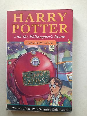 004310 Harry Potter and the Philosopher's Stone 1997 1st Edition Young Wizard