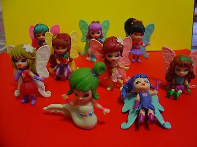 Lotto Di 9 Batterfly Dolls