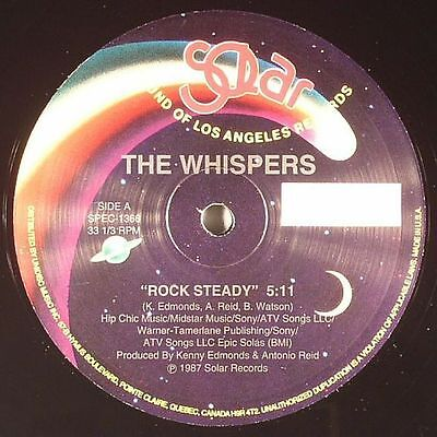 "WHISPERS, The - Rock Steady - Vinyl (12"")"