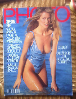 MAGAZINE PHOTO n 303 CLAUDIA SCHIFFER