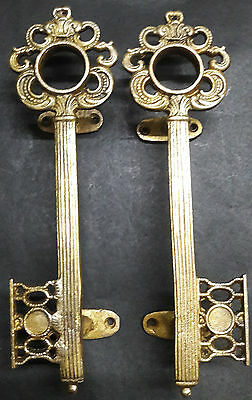 Unique Key Design Handmade Brass Antique Vintage Style Door Handle/Door Pull