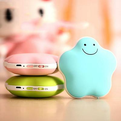 Mini Hand Warmer 3600mAh USB Rechargeable Mobile Power Bank External Charger