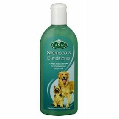 Canac Shampooing & Revitalisant pour Puppies & Chien 250ml