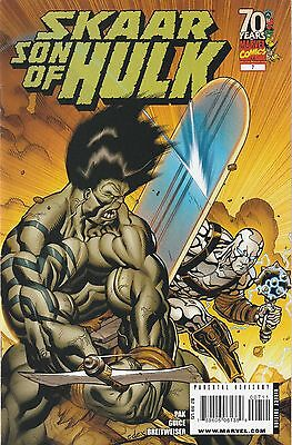 Skaar Son of Hulk (2008) #7 VF/NM 9.0 Marvel Comics Return of Silver Surfer pt.1
