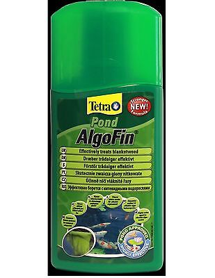 TETRA ALGOFIN FISH POND TREATMENT 250ML - Posted Today if Paid Before 1pm
