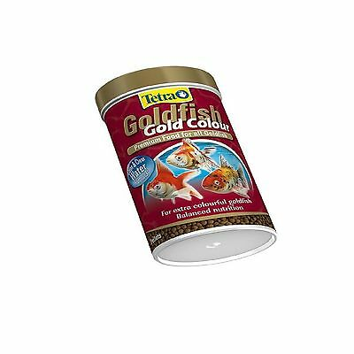 Tetrafin Gold Colour 75g - Posted Today if Paid Before 1pm