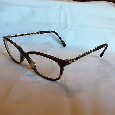 Chanel Glasses Specs Women's Genuine With Case And Box