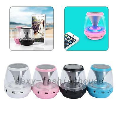 Bluetooth Portable Stereo Speaker with LED Magic Lights For All IPhone & Android