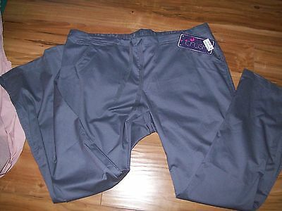 CRUSH  Unisex Grey comfort Stretch Medical/Nurses Scrub Pants XL