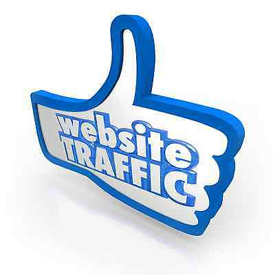 For a limited time! UNLIMITED direct visitors to your website for THREE months.