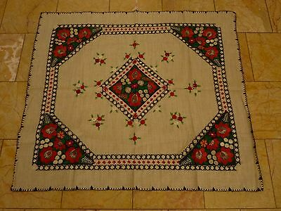 Traumhafte antik Tischdecke antique tablecloth nappe interieur design handmade