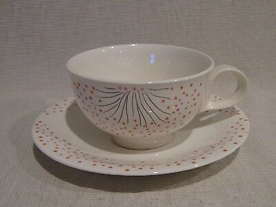 Eva Zeisel Hall Hallcraft Dawn Cup and Saucer