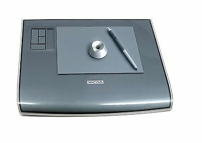 Wacom Intuos3 4 x 6-Inch Wide Format Pen Tablet (PTZ431W) with Pen & pen holder