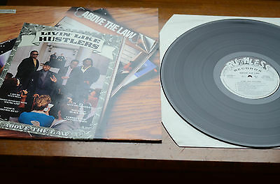 Above The law - Livin' Like Hustlers Ruthless records 1990 Vg+ / Vg+