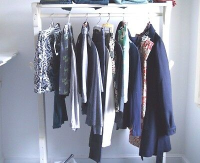 25 PC Lot DRESSY & CAREER Women's Clothes -Mixed;Tops-Pants-Blouse-Blazer-Skirts
