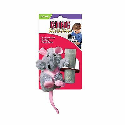 Kong Catnip Refillables Rat - Cat soft toy - Posted Today if Paid Before 1pm