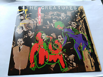 Single The Creatures - Right Now - Wonderland Uk 1983 Vg+
