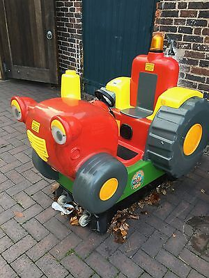 Coin Operated Tractor Tom Kiddie Ride