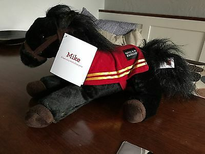 """Wells Fargo Bank Mike Legendary 15"""" Pony Red Coat Collectible Holiday 2016"""