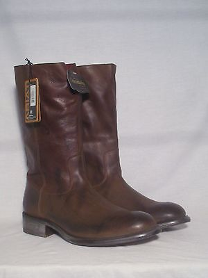 New In Box Ariat Hudson Mens Western Round Toe Boots Brown Size 8.5D