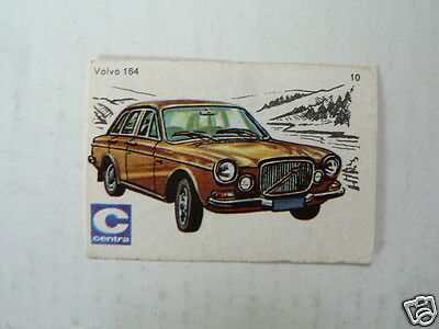 C10 Centra Lucifers,matchbox Labels Oldtimer Car Volvo 164