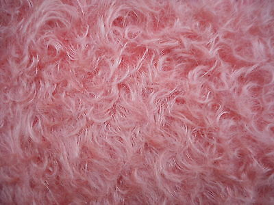 NEW F1/8th 23mm 'CORAL' SCHULTE DENSE CURLED MOHAIR