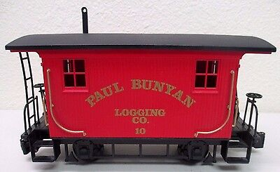 Bachmann Paul Bunyan Logging Company Caboose - G Scale - Used