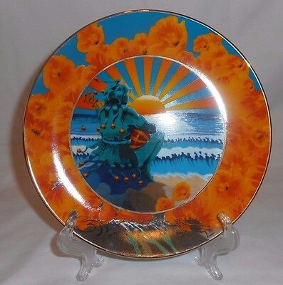 SUNSET JESTER Grateful Dead Stanley Mouse Hamilton Collection Collectors Plate