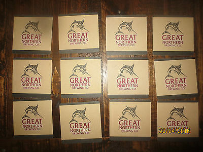 12 GREAT NORTHERN BREWERY collectable COASTERS
