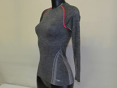 Crane Ladies Seamless Cycling Base Layer Top Jogging , Fitness Top