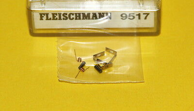 FLEISCHMANN SPARE PARTS 9517 CARBONCINI- BRUSHES + MOLLE x MOTORI SCALA N - NEW