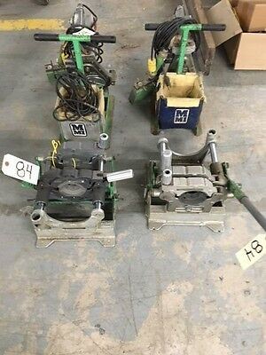 McElroy Lot of 2- # 14 Fusion Machines With Heater and Facer #84