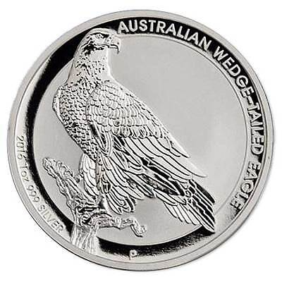 2016 1oz AUSTRALIAN WEDGE TAILED EAGLE - HIGH RELIEF SILVER PROOF COIN