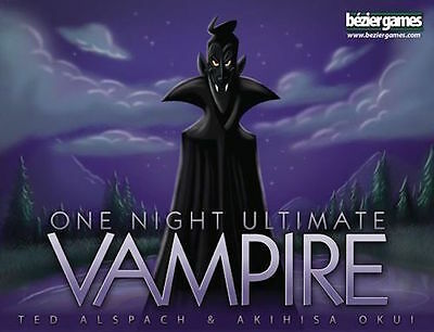 One Night Ultimate Vampire party game for 3-10 players, fast paced fun.
