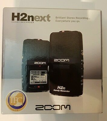Zoom H2Next Handy Portable Digital Audio Recorder NEW H2n