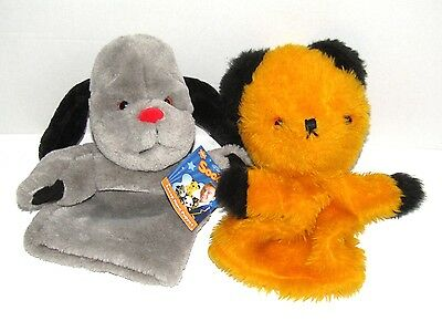 Sooty & Sweep    Hand Puppet Soft Toy Set