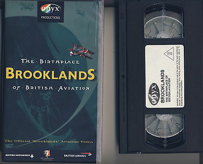 Brooklands The Birthplace Of British Aviation VHS Video