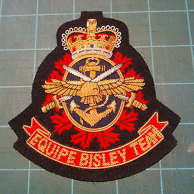 Canadian Forces Small Arm Competition Blazer Crest - New