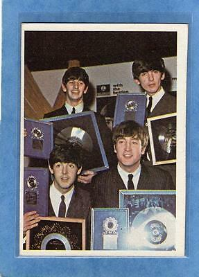 The Beatles US Original Topps 1960's Color Cards Bubble Gum Card # 6