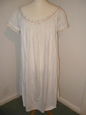 Victorian Chemise with short sleeves (Sally)