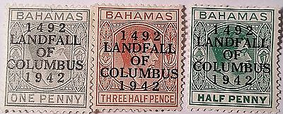 Bahamas Landfall Of Colombia  Unused Stamps ..worldwide Stamps