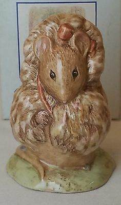 Royal Albert Beatrix Potter Thomasina Tittlemouse ( Very Rare) Bp6A