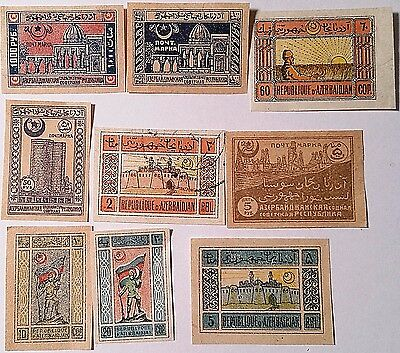 Azerbaijan   Un/used Stamps   Scu500Zr. ..worldwide Stamps