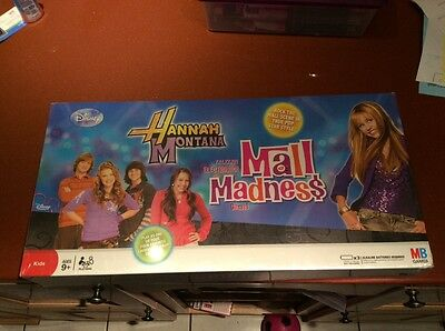 Brand New Sealed Hannah Montana Mall Madness Board Game