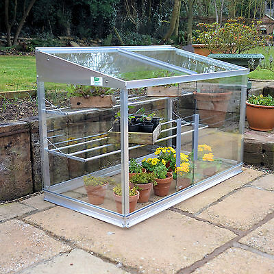 NEW ACCESS Half Growhouse/Mini Greenhouse/Cold Frame 25yr framework guarantee