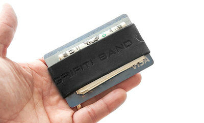 Grifiti Band Joes Pocket Wallet Super Slim Silicone Broccoli Band Horizontal